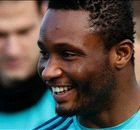MIKEL: His farewell to Chelsea fans