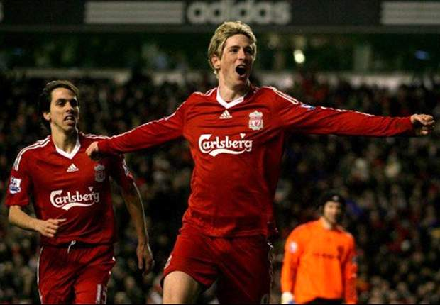 Current Chelsea striker Fernando Torres was an Anfield icon during his Liverpool days