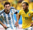 Superclasico: Brazil vs Argentina, a 100-year rivalry