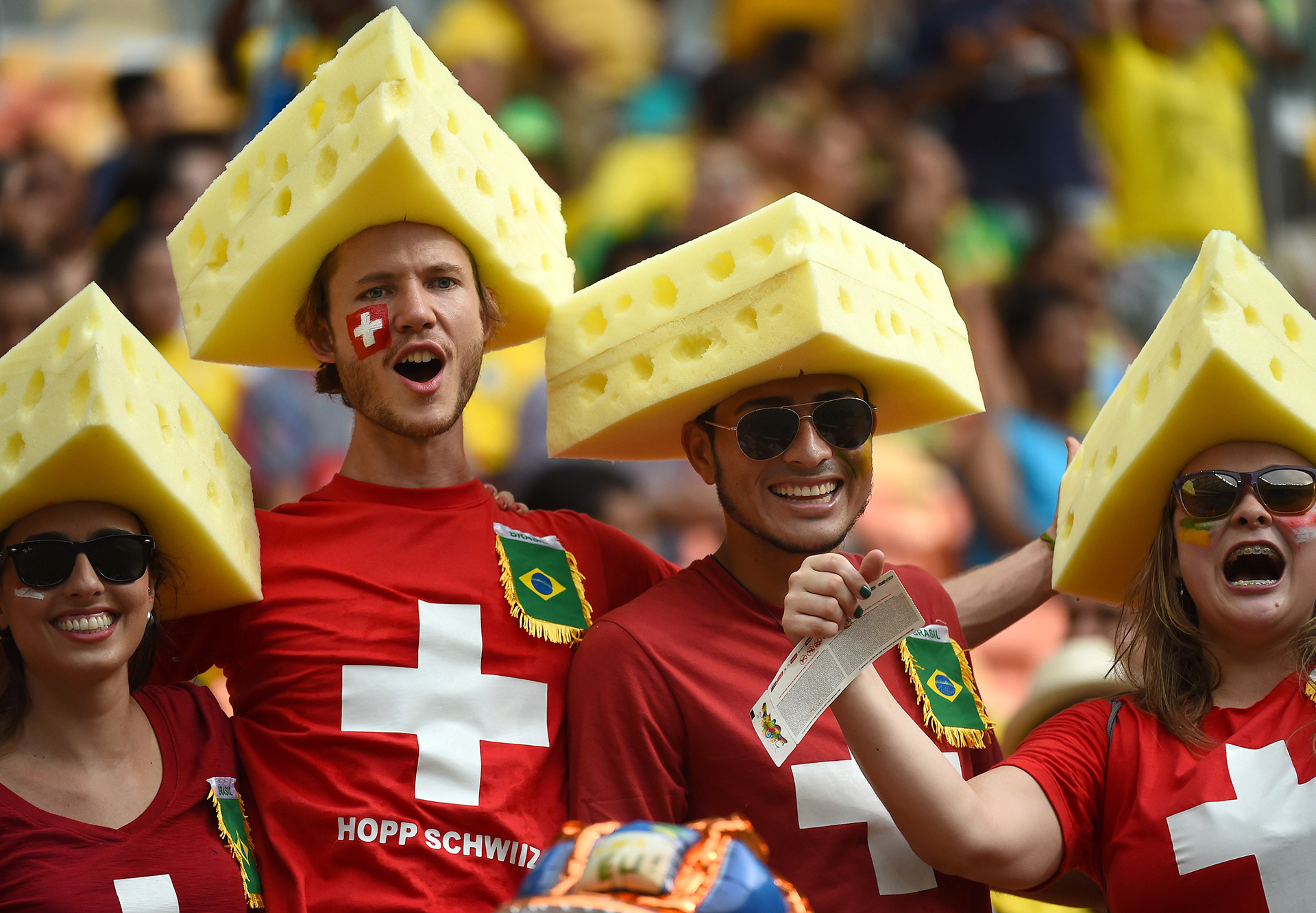 les d u00e9guisements des fans  u00e0 la coupe du monde 2014