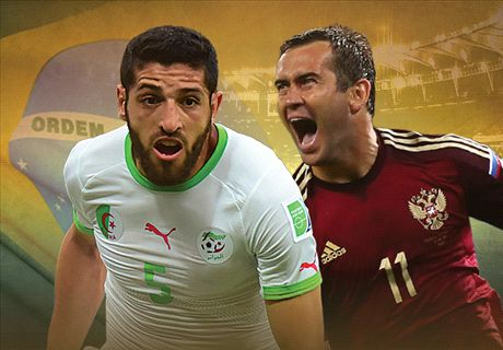 LIVE + Opstellingen: Algerije - Rusland