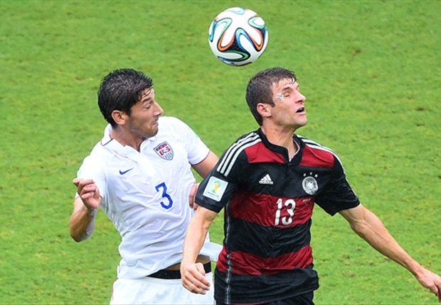 Las curiosidades del Estados Unidos 0-1 Alemania