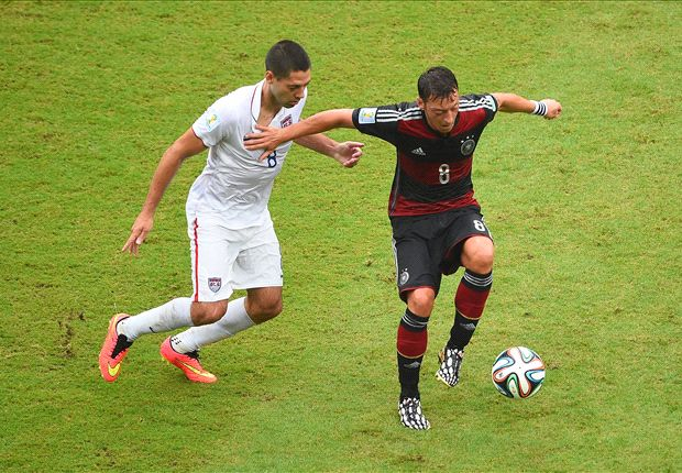 Clint Dempsey: It wasn't a normal game against Germany
