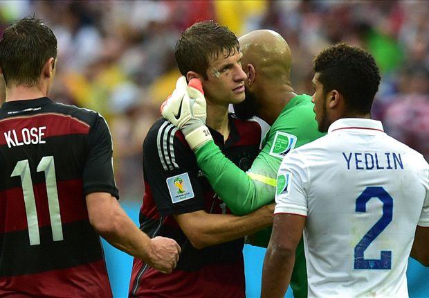 Estados Unidos 0-1 Alemania: Thomas Müller no entiende de 'biscottos'