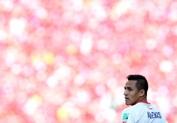 Alexis restricted at Barcelona - Sampaoli