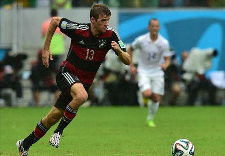 'Forget Messi - kids should copy Muller'