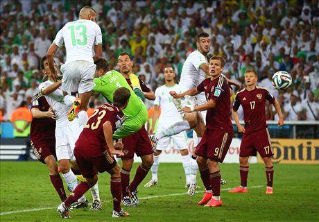Slimani kopt Algerije naar achtste finales