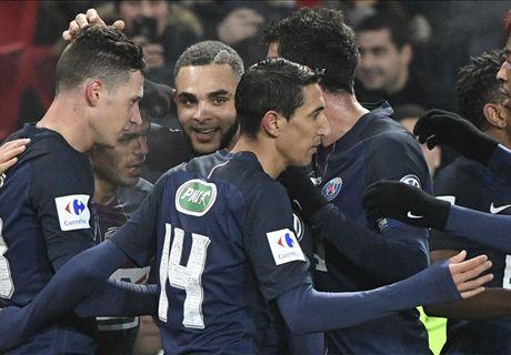 Ben Arfa stars in PSG cup thrashing