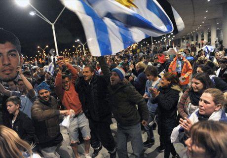 Uruguay - Costa Rica, por Luis Suárez