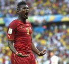 Gyan voted Africa's best striker at WC
