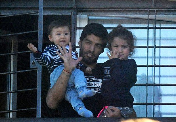 Sleepless nights for Suarez's family because of biting ban
