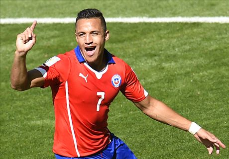 Walcott thrilled by Alexis signing