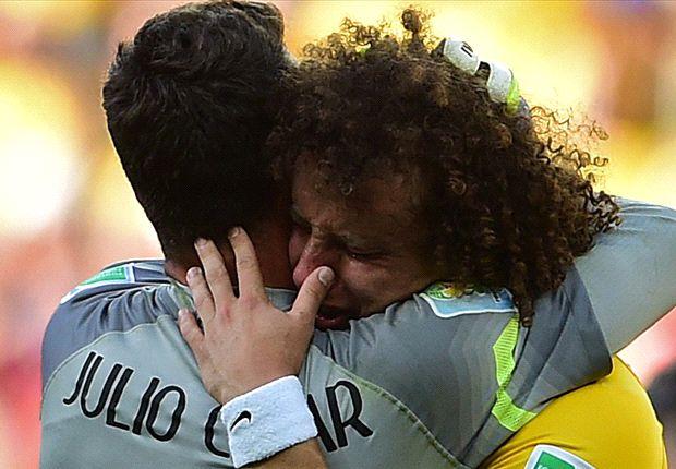 'Tears of joy' for Brazil hero Cesar