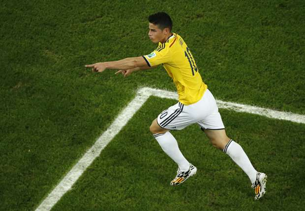 Colombia 2-0 Uruguay: King James comes of age to book quarter-final berth