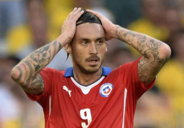 Pinilla gets tattoo of agonising miss