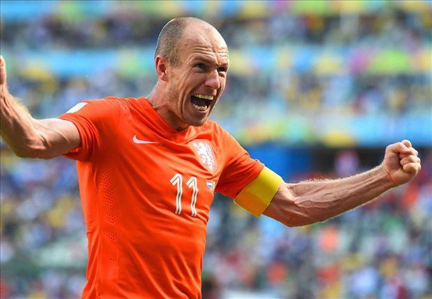Robben apologizes for diving against Mexico