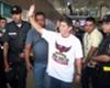 Torcida recebe Conca no Aeroporto