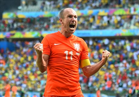 Robben should win Goal 50 - Cannavaro