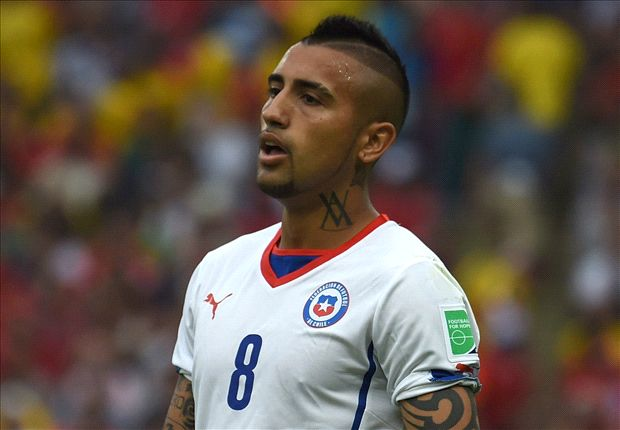 Vidal relaxed over future amid Manchester United interest