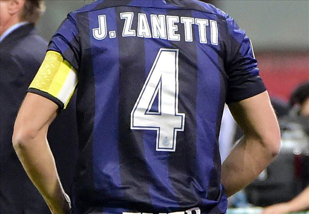 Inter make Zanetti vice-president & retire No.4 jersey