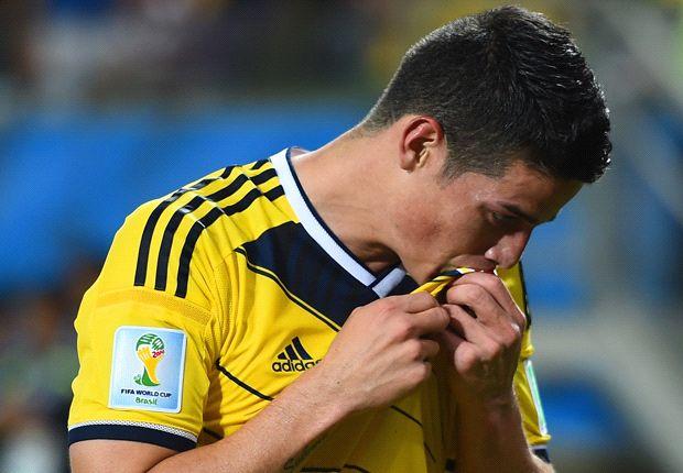 James Rodríguez lidera el once ideal de los octavos de final del Mundial
