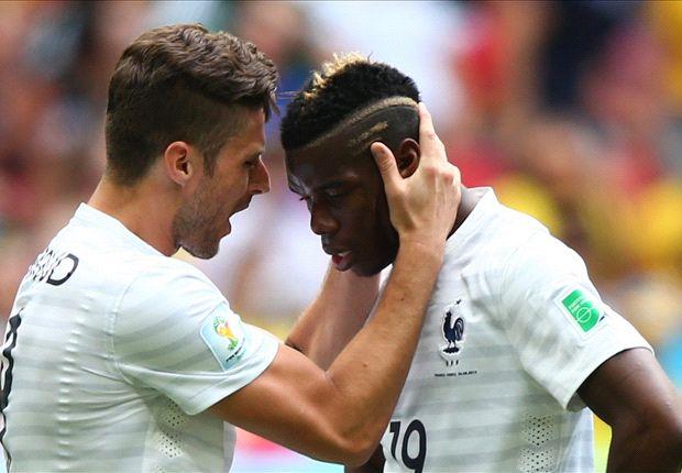 Francia le ganó a Nigeria y ya está en cuartos