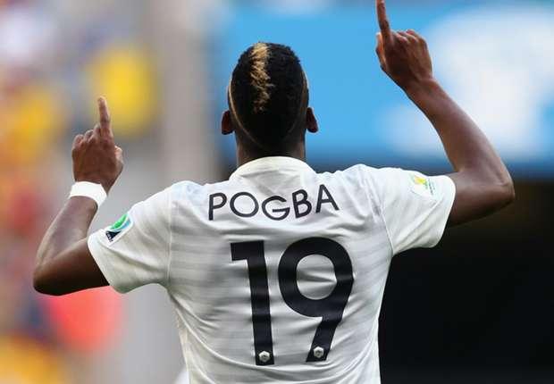 Paul Pogba France Nigeria World Cup 06302014