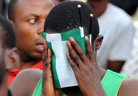 Nigeria slump to 42nd on Fifa ranking