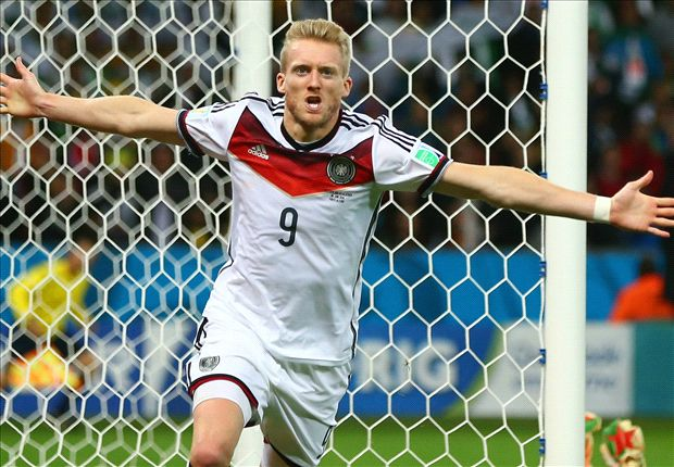 Schurrle: Germany doesn't come to a World Cup just to take part