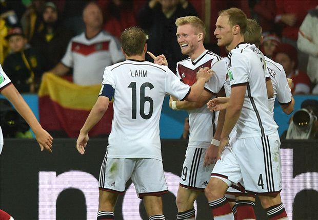 Deutschland konnte am Ende doch noch jubeln