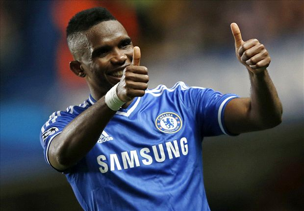 Everton rival Liverpool for Eto'o signature