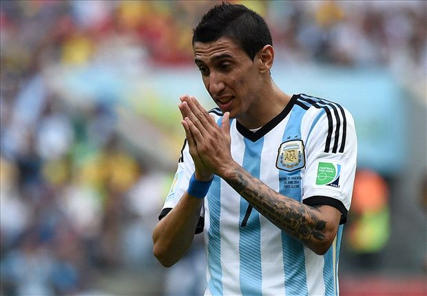 Official: Di Maria out for Argentina semi-final