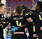 Il Napoli 'nero' non va in bianco: 3-1