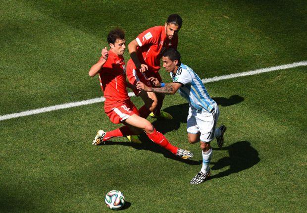 VIDEO: El gol de Di María para Argentina 1-0 Suiza