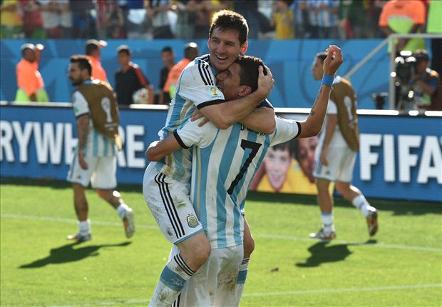 Unconvincing Argentina relies on Messi once again