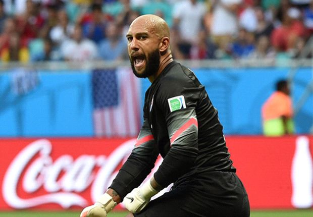 Howard breaks record for World Cup saves against Belgium