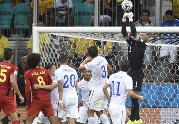 Man of the Match: Tim Howard makes history for USA vs. Belgium