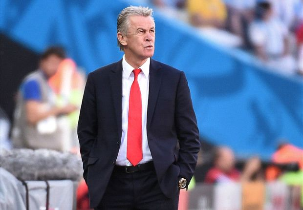 Departing Hitzfeld proud of 'incredible' Switzerland