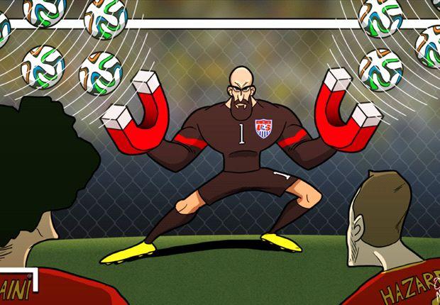 Howard fue la figura del partido.