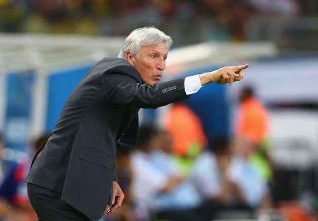 Pekerman gunning for goals against Brazil