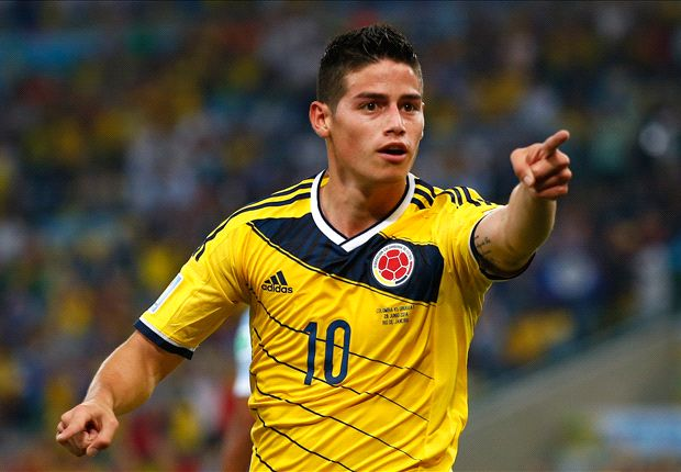 James Rodriguez: La Liga suits my style
