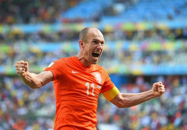 Robben: We're on a mission at the World Cup