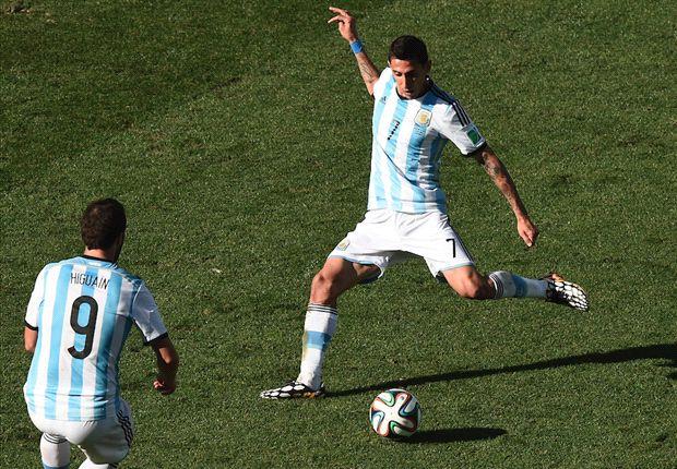 Di María convirtió el gol agónico frente a Suiza en los octavos de final.