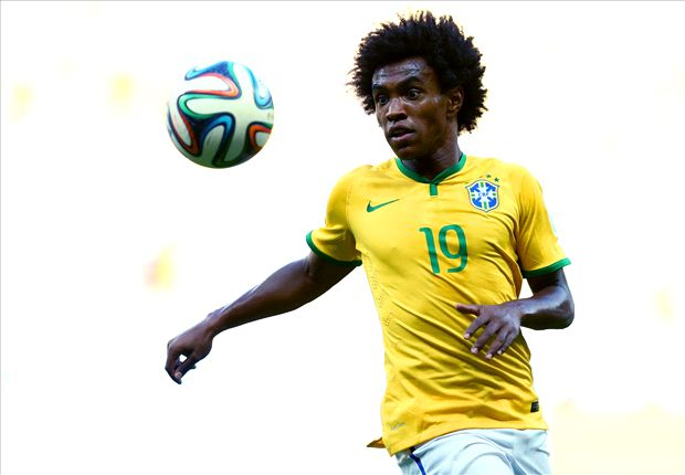 Willian plays down injury concerns ahead of Germany clash