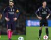 Messi vs Ronaldo, a balón parado