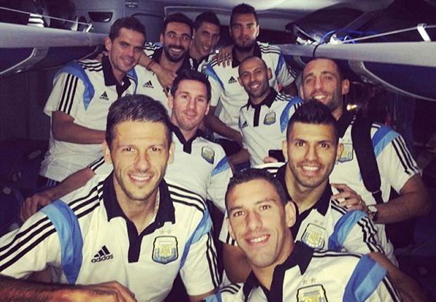 En la mañana del viernes harán el reconocimiento del Mané Garrincha