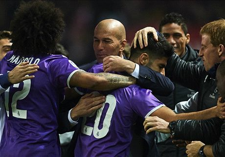 Benzema rescues record-setting Real