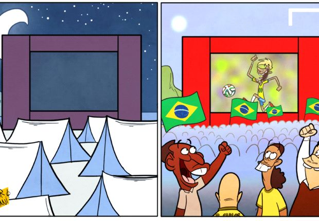 La fiebre por Neymar se apodera de Brasil