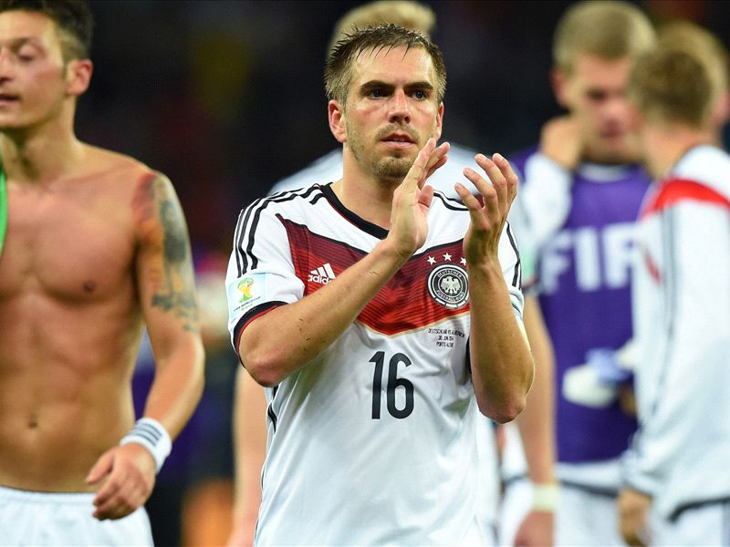 Lahm: Germany need luck to stay champions
