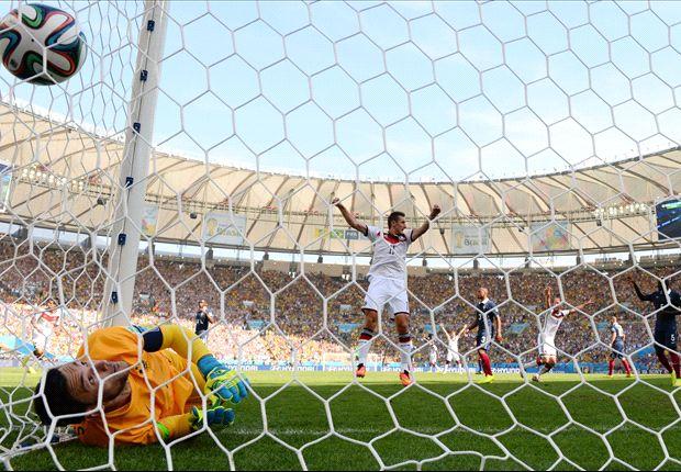 Alemania venció a Francia y se metió en semifinales